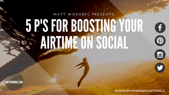 Boost Your Airtime on Social